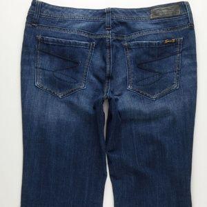 Seven7 Flare Jeans Women's 31 Stretch Soft B629